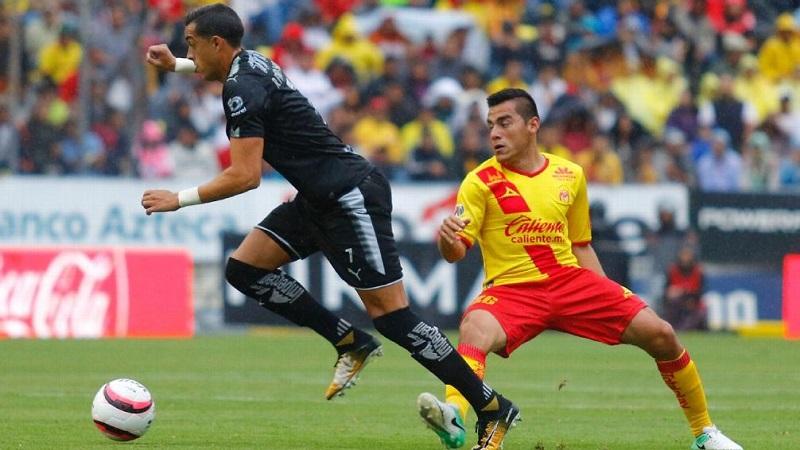 Aldo Rocha debutó en la Primera División en 2013 con los esmeraldas del León y en el torneo anterior llegó a préstamo a Monarcas Morelia