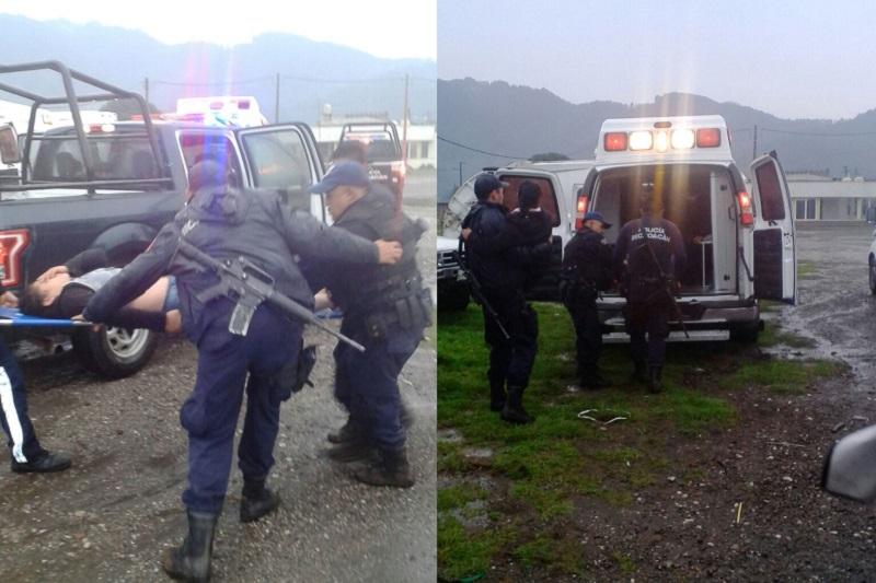 Los 7 lesionados fueron traslados a hospitales de los municipios de Zitácuaro y Tuxpan para recibir atención médica