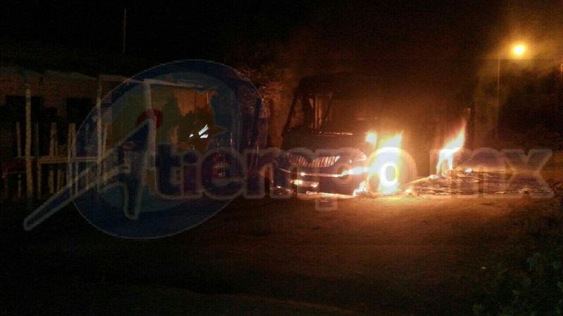 Este incidente se registró al filo de las 04:00 horas cuando en la colonia San Ángel de la tenencia de Buenos Aires entre las calles Hermosillo y Plata