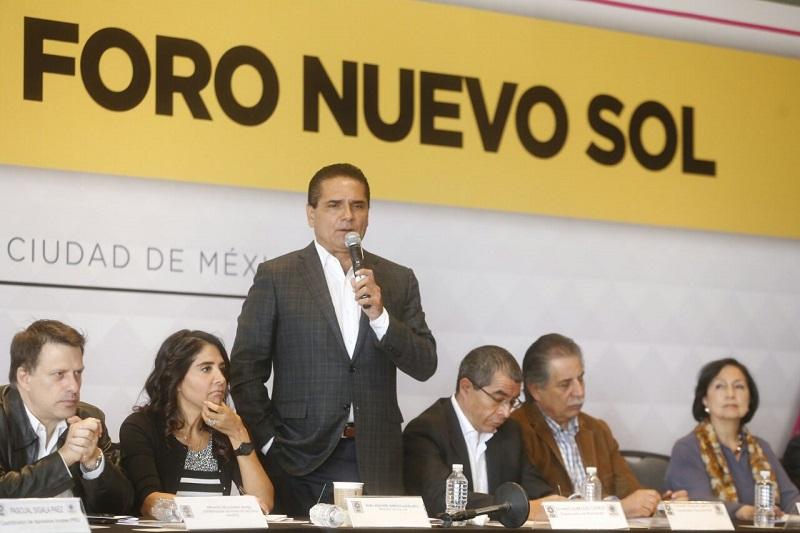 Convoca a sus compañeros militantes de Foro Nuevo Sol a fortalecer y consolidar al sol azteca
