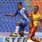 """El colombiano Brayan Angulo fue el protagonista de este duelo, al conseguir el gol con el que los de la """"Angelópolis"""" se adelantaron en la pizarra, al minuto diez, y al marcar en propia meta el tanto con el que los """"purépechas"""" lograron la paridad, al 45"""