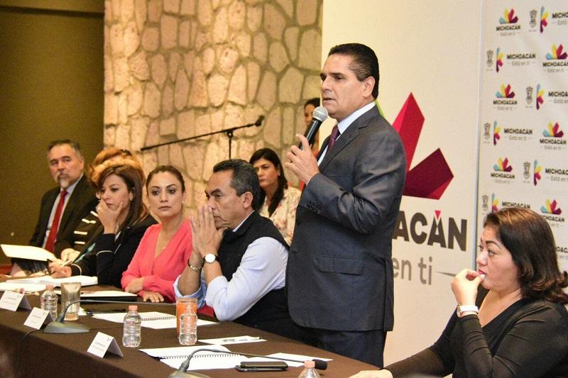 Aureoles Conejo manifestó que a pesar de las condiciones financieras, la prioridad es mejorar la vida de las familias que habitan en el estado
