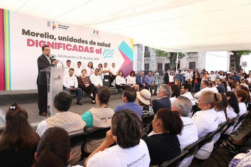 Hasta mil 500 mdp adicionales ha gestionado el Gobierno del Estado para atender las necesidades en materia de salud, destaca el jefe del Ejecutivo Estatal