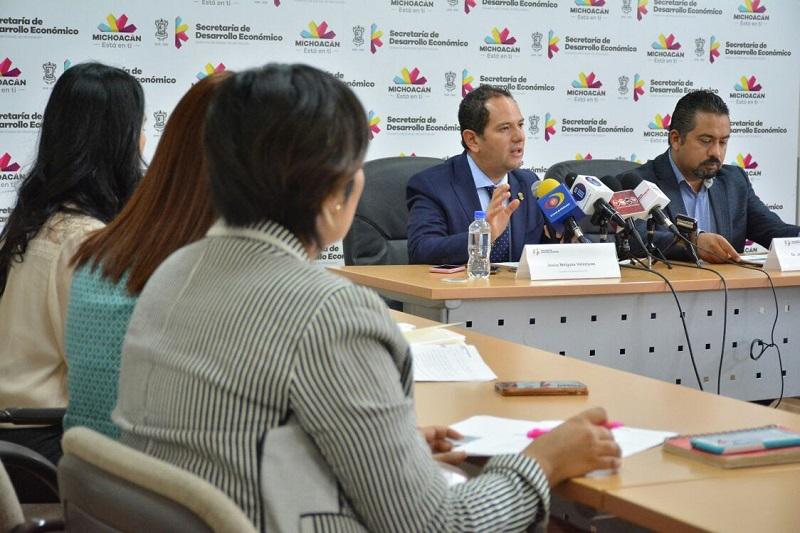 De acuerdo con Jesús Melgoza Velázquez, secretario de Desarrollo Económico del estado, durante 2017 un total de 19 proyectos se apoyaron a través del PEI con una inversión de más de 140 millones de pesos