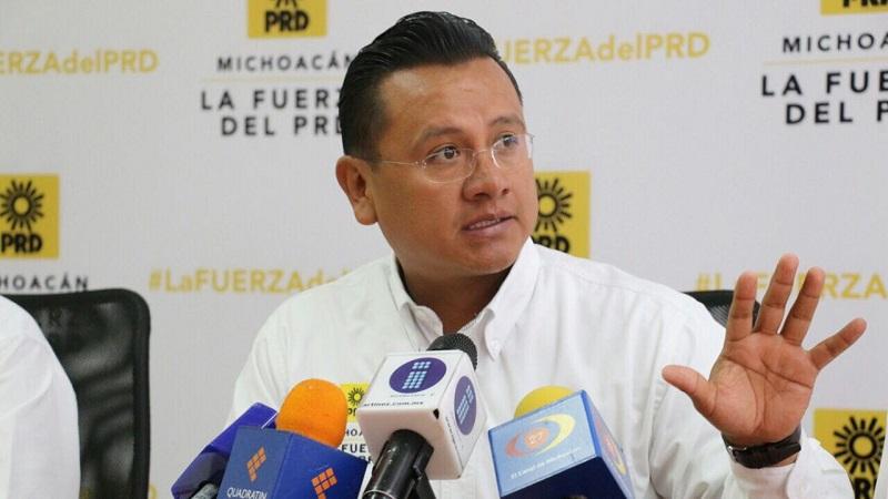 PRD no avalará privatización del alumbrado público en Morelia: Torres Piña