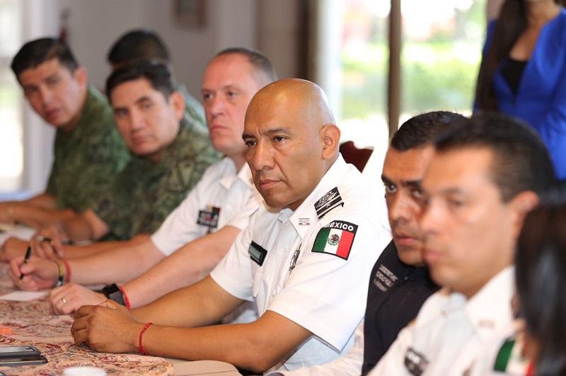 Aureoles Conejo dio la bienvenida a Abundiz Núñez en su nueva encomienda y reiteró su respaldo, disposición y compromiso de seguir haciendo equipo para continuar el trabajo en materia de seguridad