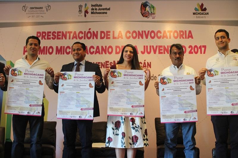 Giuliana Bugarini, directora general del Ijumich, señaló que con la reforma al decreto de creación del premio se modificaron lineamientos y reglas de operación