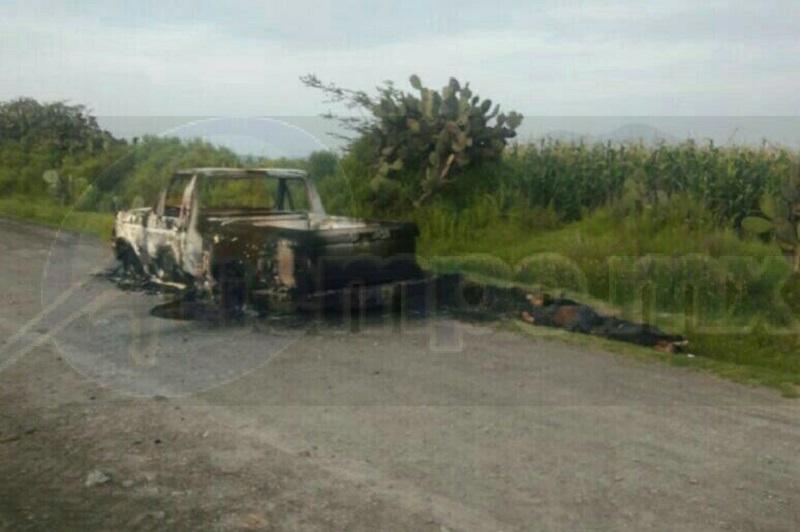 El hallazgo se suscitó cuando un campesino caminaba por la carretera de terracería  Chiripa - Tepuxtepec, en los límites con el municipio de Epitacio Huerta