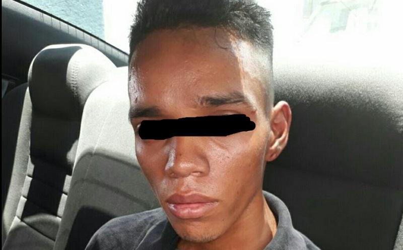 El detenido responde al nombre de Marcos V. D., de 21 años de edad, con domicilio en la calle Sitio de Cuautla de la colonia Independencia