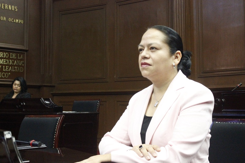Alcántar Baca es presidenta de la Comisión de Fortalecimiento Municipal y Límites Territoriales en el Congreso del Estado