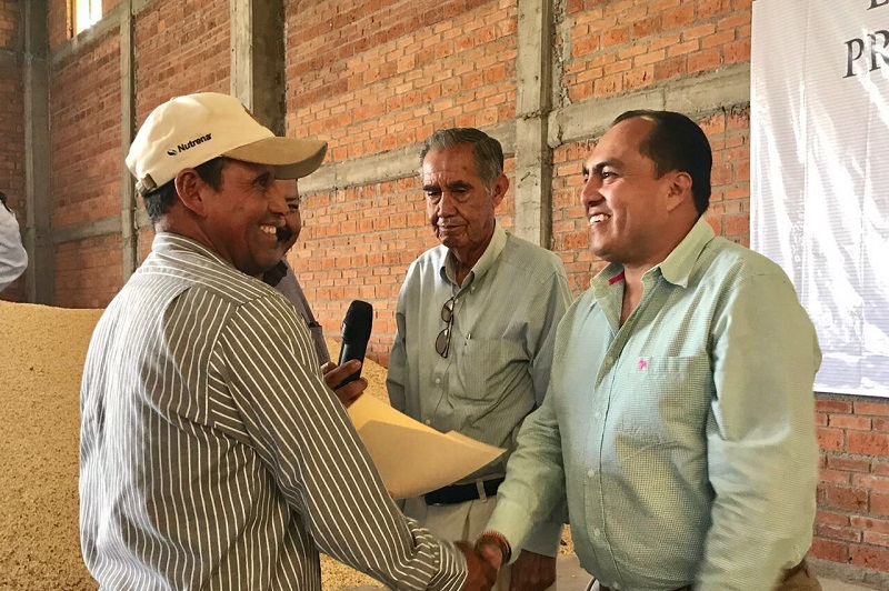 Con estos recursos los productores de lenteja, podrán adquirir maquinaria que les permita alcanzar la comercialización de 350 toneladas al año