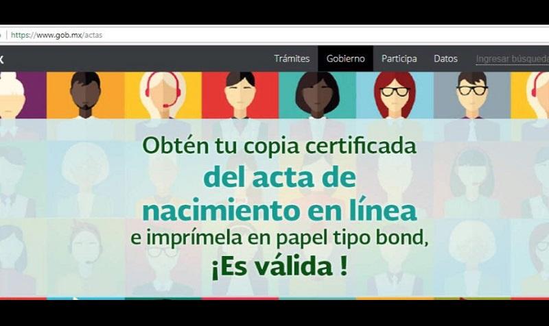 La prueba piloto de impresión en línea comenzó el primero de agosto en cinco estados de la república, Jalisco, Colima, Aguascalientes, Hidalgo y Estado de México, a efecto de poder identificar posibles fallas o campos de mejora