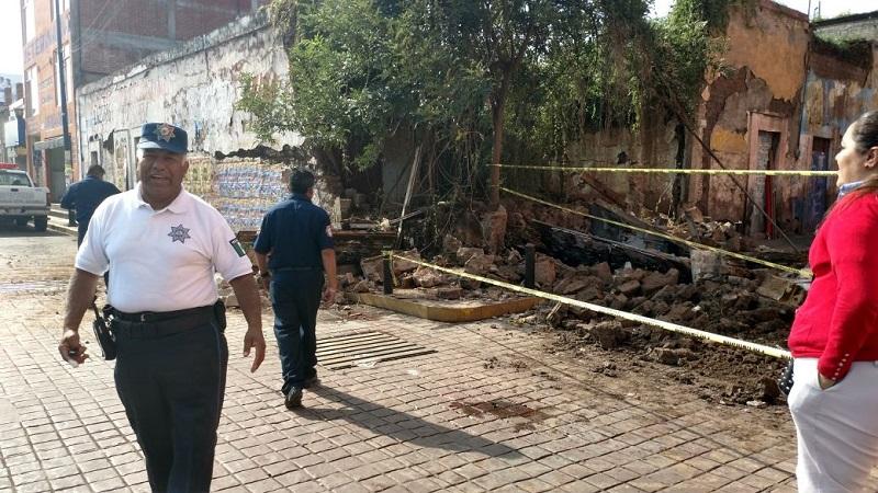 Tras los hechos, personal de Tránsito y Movilidad de la Secretaría de Seguridad Pública (SSP) de Michoacán acordonó el área para agilizar el tránsito y evitar más accidentes