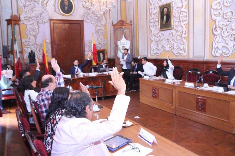 En sesión de pleno también se avaló el Acuerdo que regula las intervenciones de los regidores una vez concluida la lectura del Segundo Informe de Gobierno