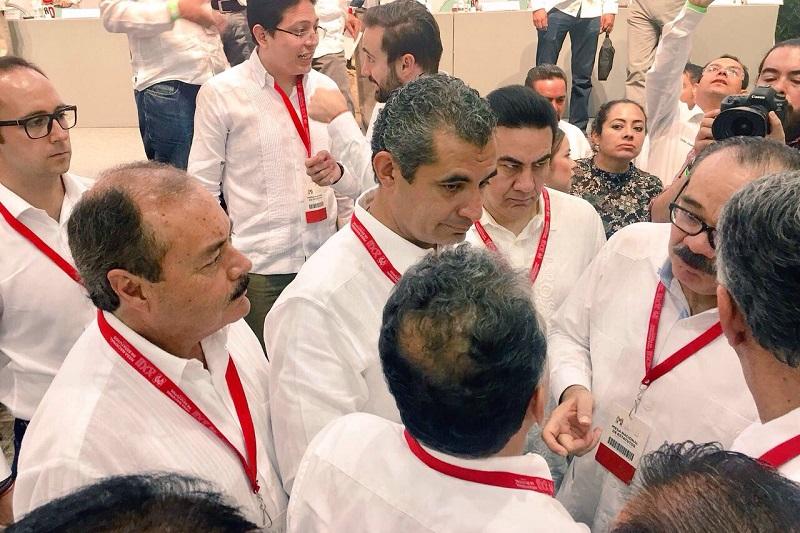 El líder priista michoacano, Víctor Silva aseguró que todos los trabajos referentes a la Asamblea forman parte de la evolución y transformación del tricolor, en la cual han participado 365 mil militantes en todo el país