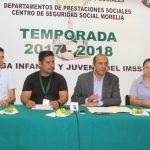 La Liga Infantil y Juvenil del IMSS tiene ya 37 años de fomentar el futbol de forma ininterrumpida y organizada en la capital michoacana y a lo largo de su historia ha sido forjadora de talentos rumbo al profesionalismo