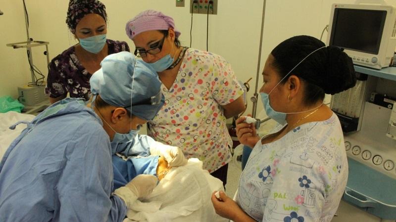Por primera vez en la Unidad de Medicina Familiar No. 64 Puruándiro, se realizaron cirugías de extracción de cataratas