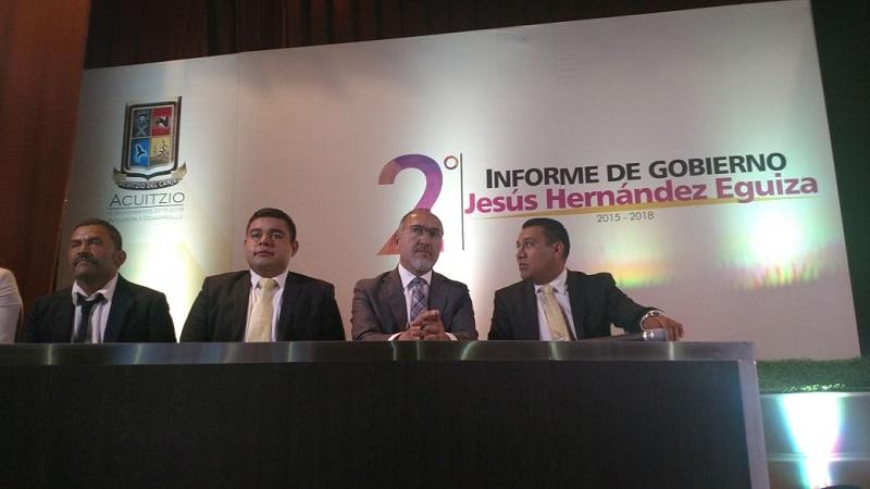 En representación del gobernador Silvano Aureoles, acudió al evento el titular de la SCOP, José Juan Domínguez