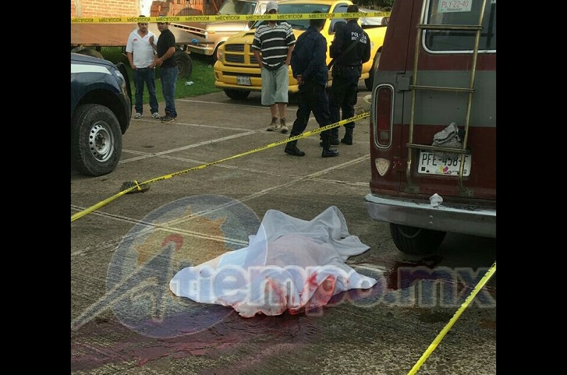 Autoridades identificaron a la persona asesinada como Gilberto C., de 52 años de edad, con domicilio en la localidad de Cantabria