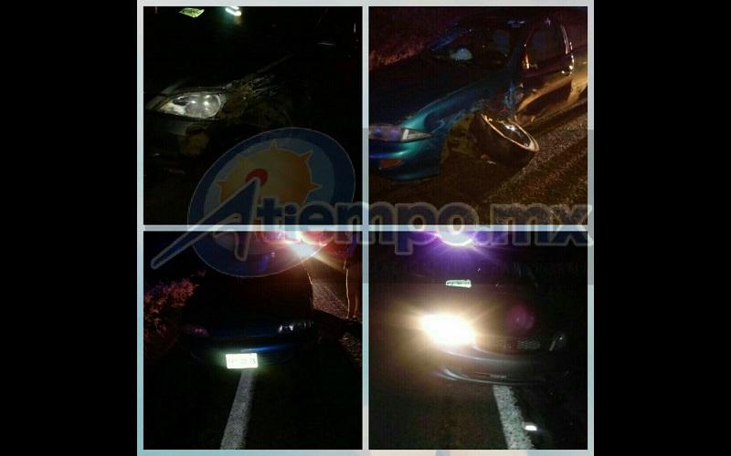 Fuentes policiales indicaron que el conductor del vehículo Honda aparentemente invadió el carril contrario para posteriormente chocar contra el vehículo Cavalier