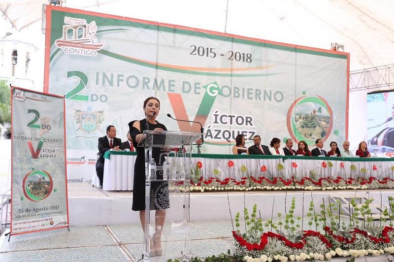 La titular de la CGCS destacó que para la administración estatal es de primer orden ampliar la infraestructura en servicios públicos e impulsar las vocaciones productivas de cada región