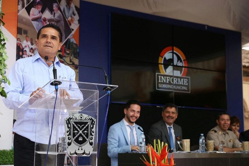 Aureoles Conejo pide al titular de la Sedeco generar proyectos de inversión para Peribán y la región, por su gran dinamismo económico