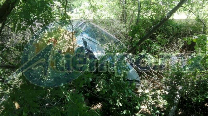 Personal de la Policía Michoacán se hizo cargo de realizar el peritaje y trasladar el vehículo a un corralón