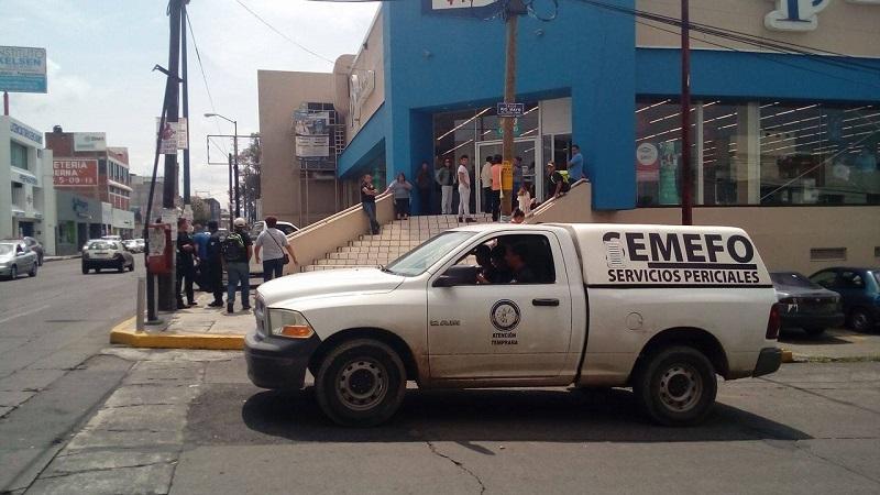 Al lugar arribaron agentes de la UEEC y el Semefo para realizar las diligencias correspondientes