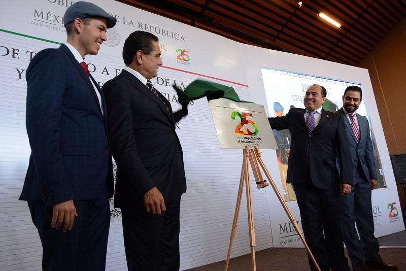 La Universidad Michoacana fungió como anfitriona de la conmemoración de los 25 años de la operación de la Delegación en Michoacán de la Sedesol