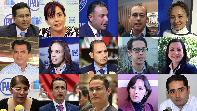 Marko Cortés, Luisa María Calderón, José Manuel Hinojosa y Carlos Quintana, podrían destacar entre los protagonistas panistas de la próxima elección