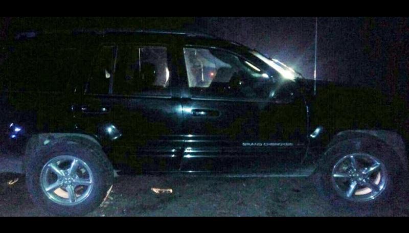 Christian Z., de 31 años de edad, fue detenido en un filtro de revisión cuando conducía un vehículo marca Jeep, línea Cherokee