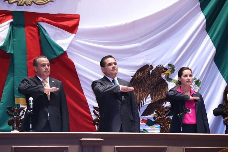 Aureoles Conejo manifestó que nuestra Patria se ha forjado con el diálogo que construye y compromete, con el argumento que define y sustenta, con la convicción para sumar lo mejor de cada propuesta y así caminar en este permanente proyecto de país
