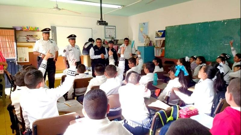 El subsecretario de la institución, Carlos Gómez Arrieta, supervisó el despliegue operativo en la capital michoacana