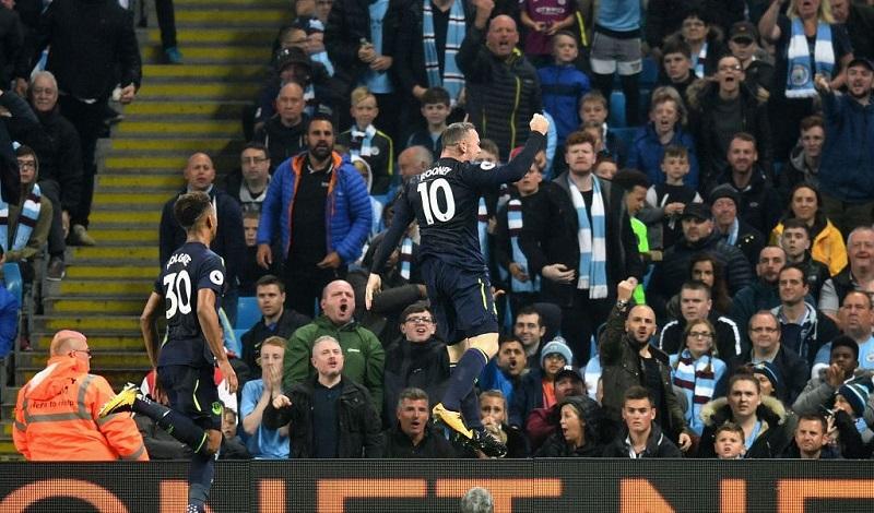 Tras marcar el gol de la victoria hace una semana ante el Stoke City, Rooney consiguió su segundo tanto de la temporada