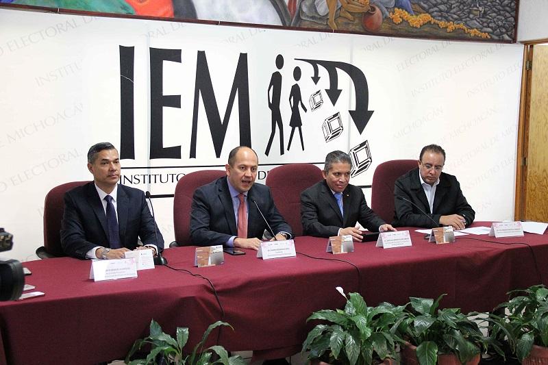 Ofrecen IEM, INE, TEEM y UNLA diplomado en Derecho Electoral y Desarrollo Democrático