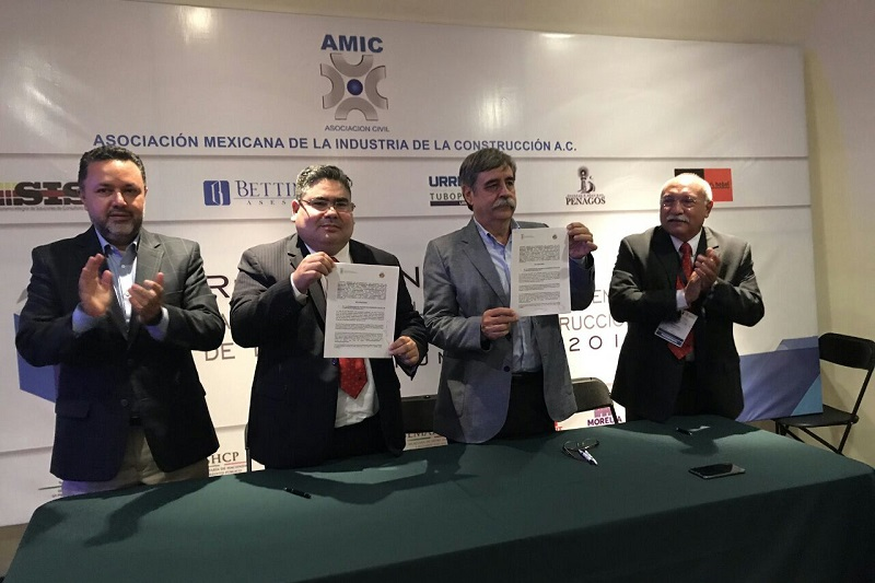 Se impulsará la inclusión de mujeres y personas con alguna discapacidad en la industria de la construcción, firma histórica de solidaridad social en el ramo