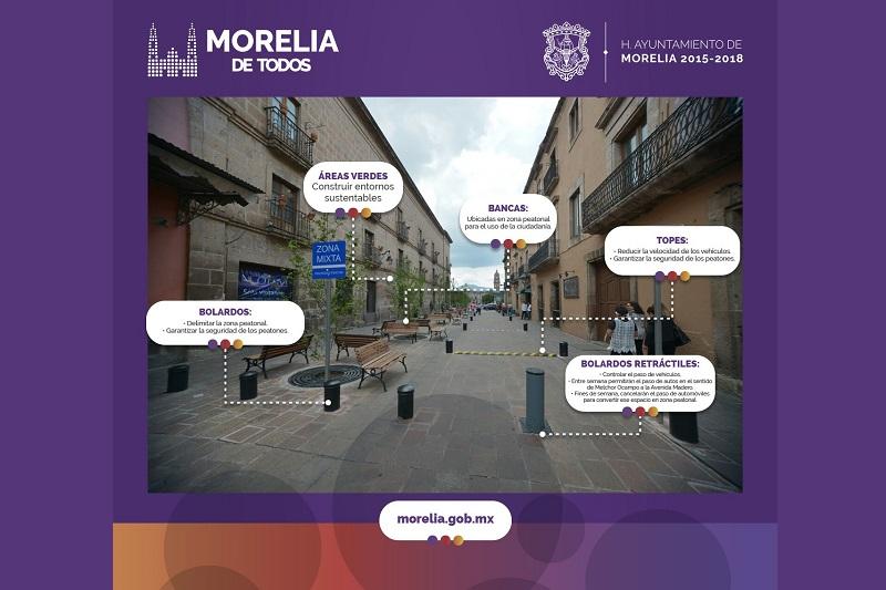 Dicen que quienes conduzcan por la calle Melchor Ocampo y quieran llegar a un negocio ubicado en este tramo de Ignacio Zaragoza lo podrán hacer por dicha vialidad, para posteriormente incorporarse hacia la Avenida Madero