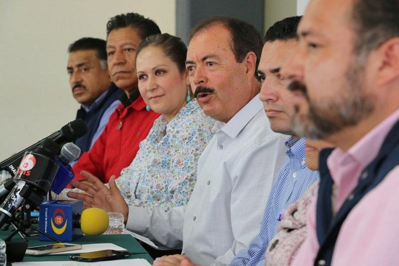 """""""El PRI es el partido más transparente en México y Michoacán"""": Víctor Silva"""