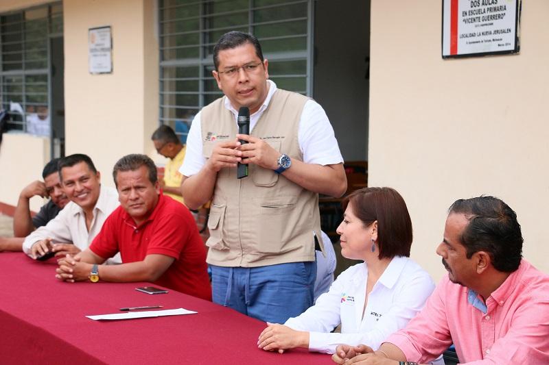 En este centro educativo inician el ciclo escolar 31 jóvenes de las comunidades de La Injertada, Las Caramicuas, Rincón de Áreas, San José, El Jazmín y Carrizalillo