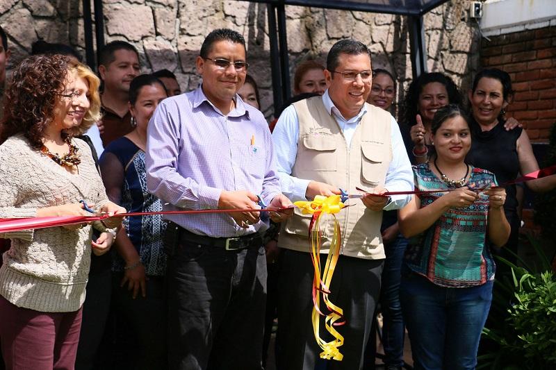 La inauguración de los espacios estuvo a cargo del director general, Juan Carlos Barragán