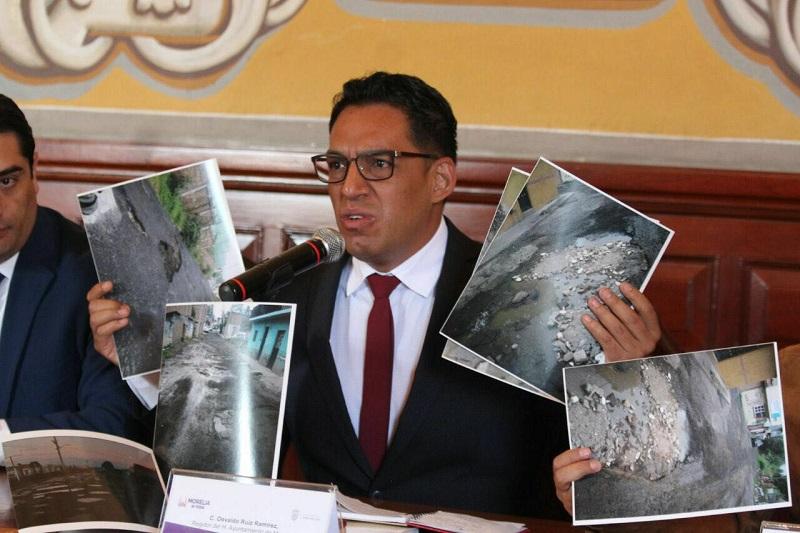 Ruiz Ramírez adelantó que detallará más esa información el próximo 4 de septiembre, cuando presente su Segundo Informe de Labores ante la sociedad moreliana