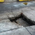 El municipio anunció que cuando se justifique que el accidente o la afectación fue provocado por las condiciones de la superficie de rodamiento, el propietario del mismo puede acudir a la Dirección de Compras del Ayuntamiento capitalino