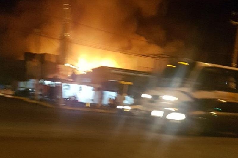 Hasta el momento se desconocen las causas de la conflagración