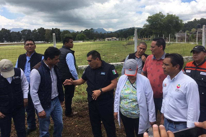 Se brindó apoyo con cobijas y alimento a familias de varios municipios del estado