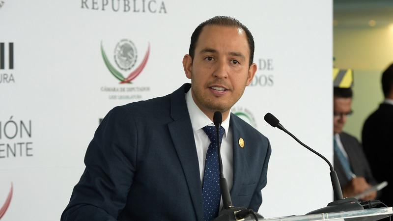 """Hacemos un llamado a senadores, para aprobar iniciativa presidencial que elimina el """"pase automático"""": Cortés Mendoza"""
