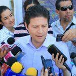 Martínez Alcázar aclaró que luego de que fue aprobada la iniciativa de Ley de Ingresos por parte del Cabildo de Morelia, no se presentaron ajustes de un posible incremento del agua