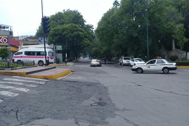 La modernización de la Avenida Héroes de Nocupétaro, será integral toda vez se adecuará para que tanto automovilistas como peatones, circulen con seguridad por la misma, dice el gobierno municipal