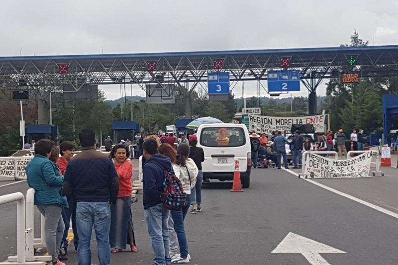 Para este jueves, la Sección XVIII tiene programado marchar en Morelia para exigir plazas automáticas para normalistas recién egresados
