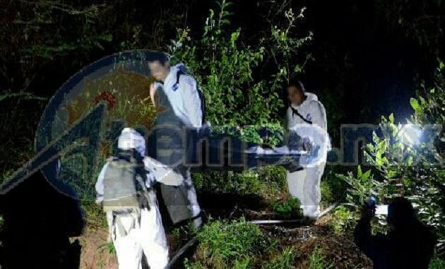 Una persona del sexo masculino el cual se encontraba maniatada, y en estado de descomposición, en el interior de una fosa clandestina en un paraje del municipio de Charo