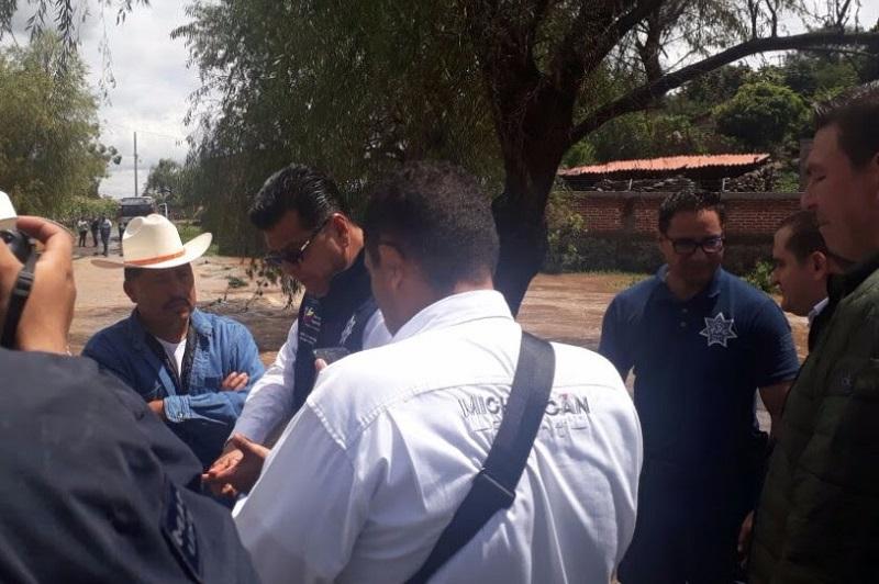 El Gobierno de Michoacán, a través de la SSP, ratifica su compromiso de brindar apoyo a la población ante cualquier emergencia o contingencia